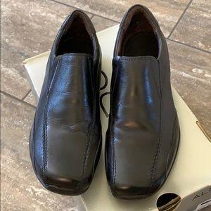 Aldo Men's Black Leather Dress/Casual Shoes
